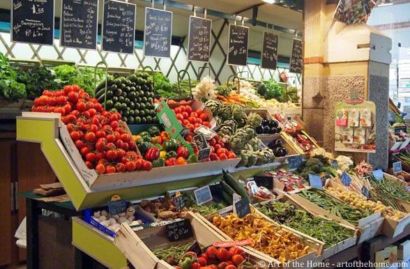 French farmers market