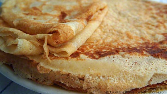French Crepes (Crepes au Sucre)