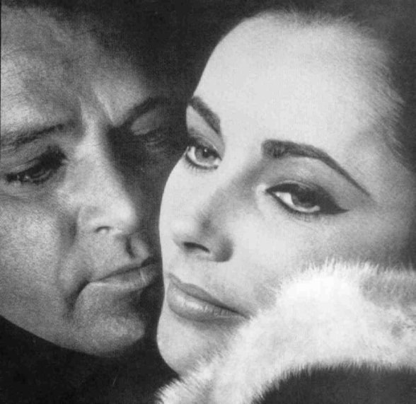 """Elizabeth Taylor and Richard Burton"""