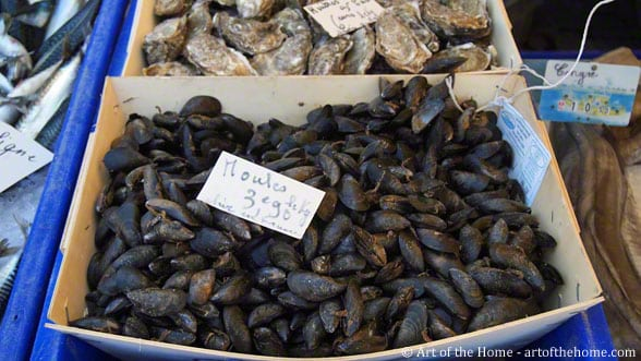 Farmers market pictures moules