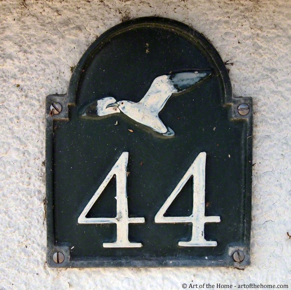 Engraved French House Number Plaques
