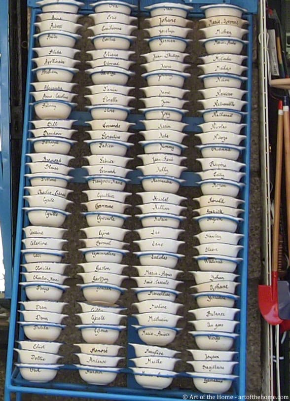 Brittany faience lug bowls