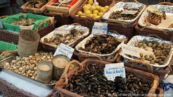 Pictures of Paris, France: farmers market