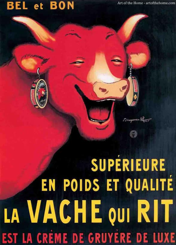 Easy dinner recipe with a 90 year old french cheese art of the home - Photo la vache qui rit ...