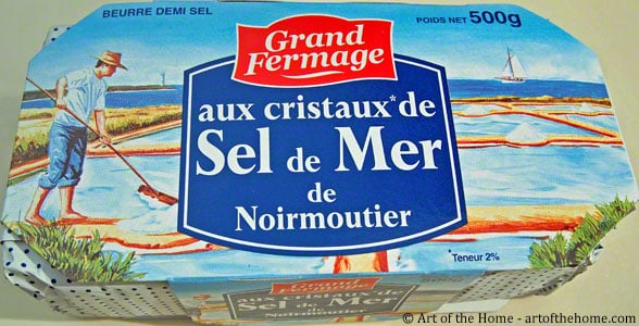 Grand Fermage: French sea salt butter
