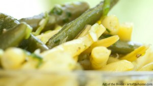 Braised French Beans and Wax Beans