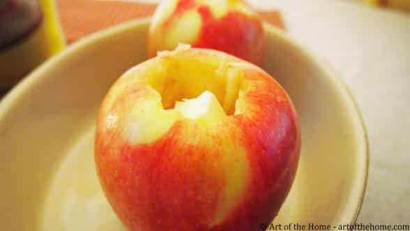 French Country Recipe for Baked Apples