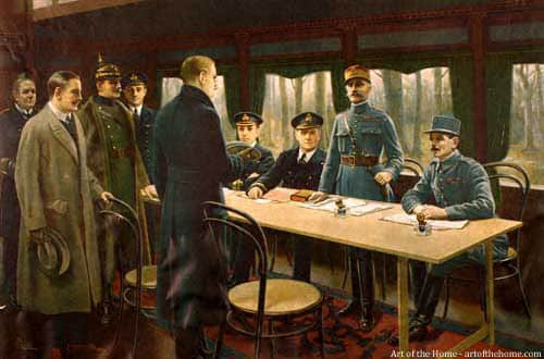 Armistice Day: 11 November 1918