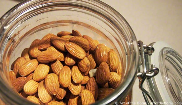 Almonds in a Jar