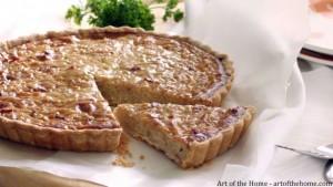 Menu du Jour: Onion Quiche