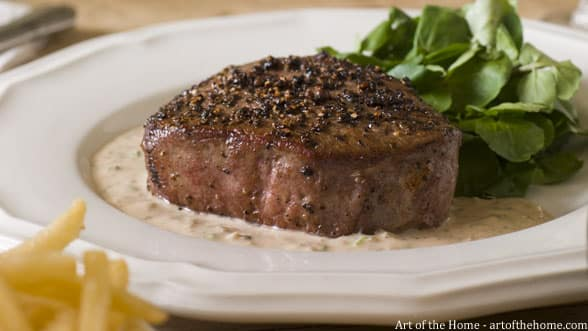 French Bistro Pepper Steak