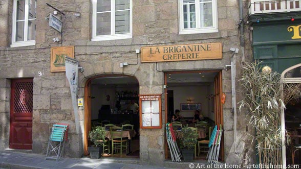 Creperie La Brigantine, Saint Malo, France