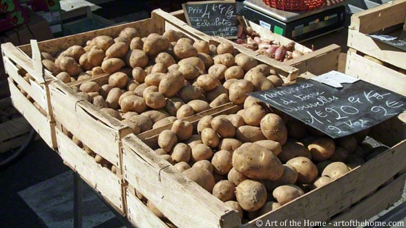 French side dish: potatoes boulangere