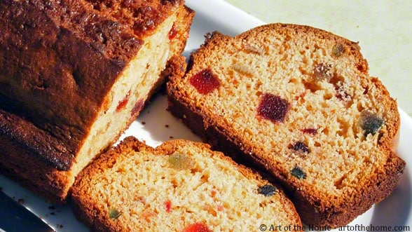 French Desserts: Candied Fruit Cake