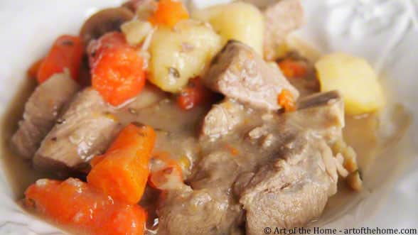 Classic French Veal Stew