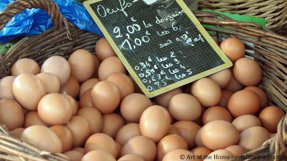 Farmers market pictures eggs
