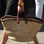Traditional French market baskets