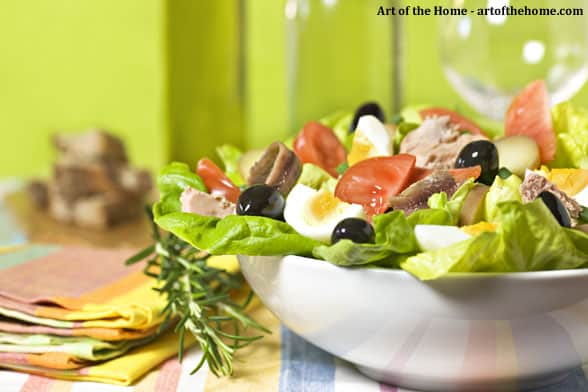 French salade Nicoise recipe