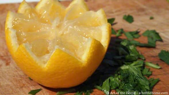 Lemon in dents de loup