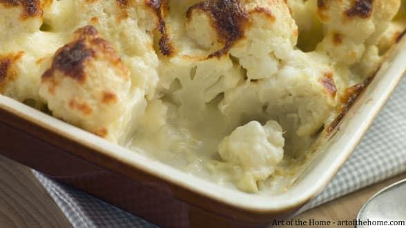 Cauliflower cheese recipe: cauliflower gratin