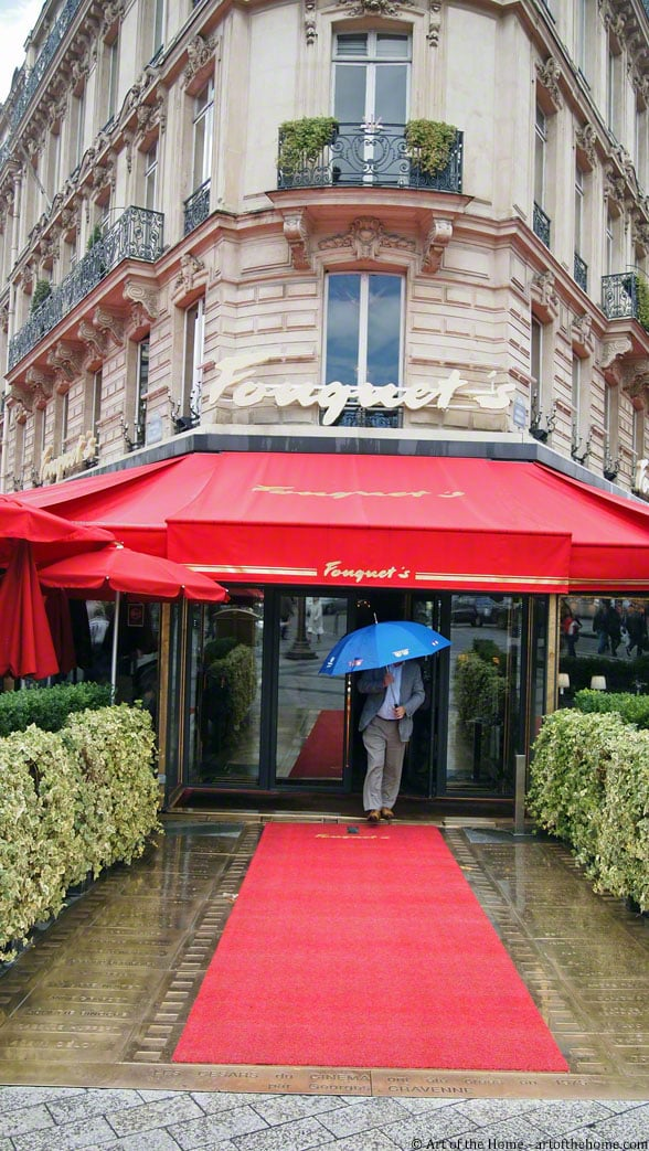 Fouquet's on the Champs-Elysees