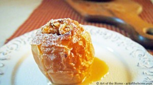 French Dessert: Country Baked Apple